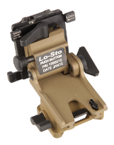 Lo-Sto Helmet Mount, Push Button